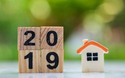 Rappel des changements dans l'immobilier en 2019