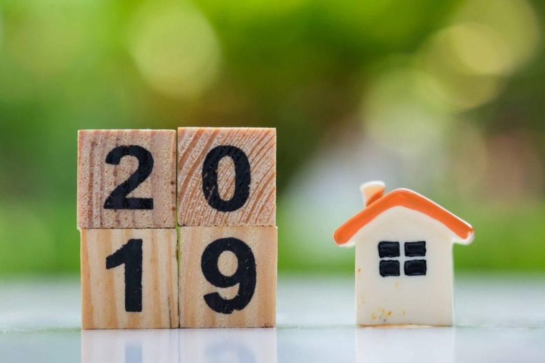 changements dans l'immobilier en 2019