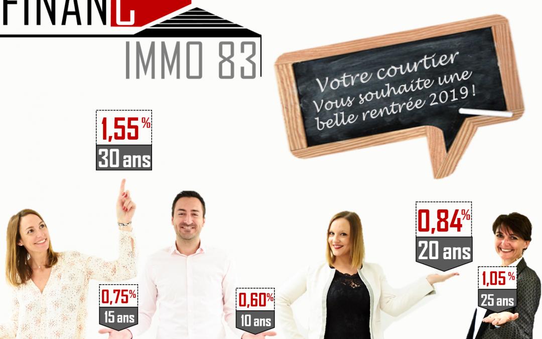 Taux négociés par Financ'Immo83 : comment se porte votre courtier en crédit à Toulon ?